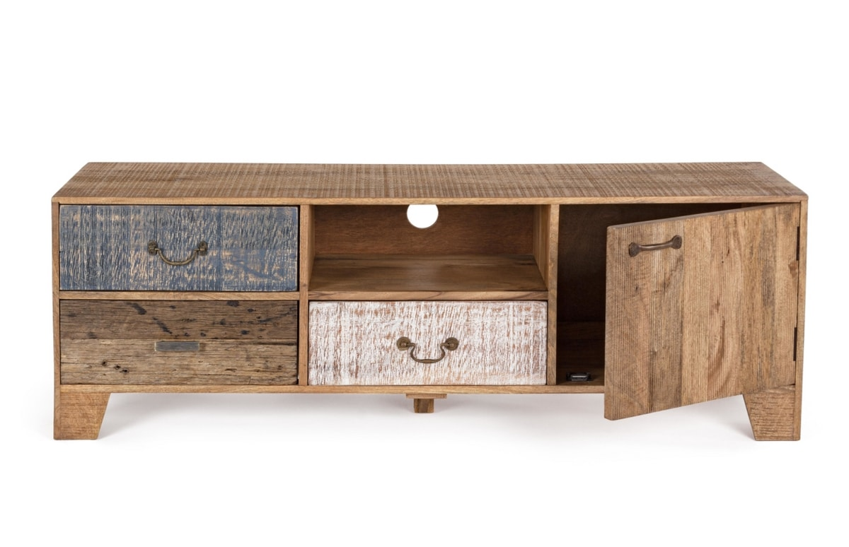 Tv cabinet 1A-3C Modez, TV stand in rustic country style