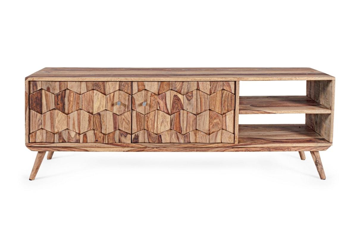 TV cabinet 2A Kant, Sheesham wood TV cabinet