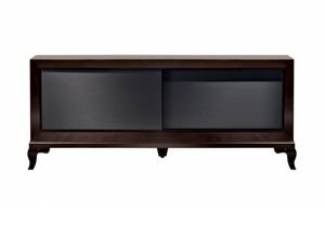 Tzsar tv cabinet, TV cabinet with sliding doors
