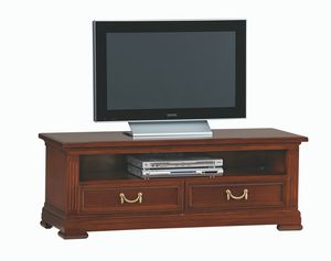 Villa Borghese TV stand 5377, TV stand with two drawers