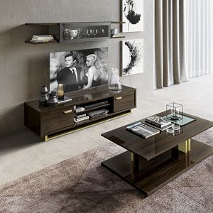 Volare tv stand, TV cabinet with a clean cut design