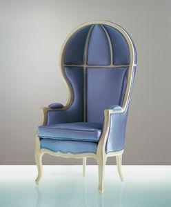 4708 Babette, Armchair with high backrest