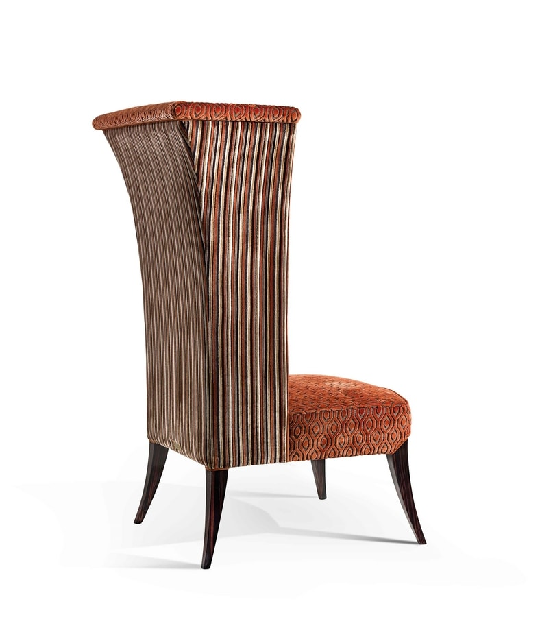 ART. 3326, Throne with rosewood legs