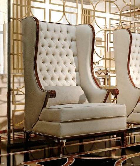 Art. Lira, Classical armchair with high backrest
