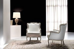 Aston, Classic armchair for glamorous and elegant environments