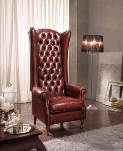 BERGER IMPERIALE armchair, Bergere armchair with high backrest