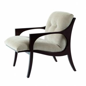 Bridge armchair, Lounge armchair with armrests