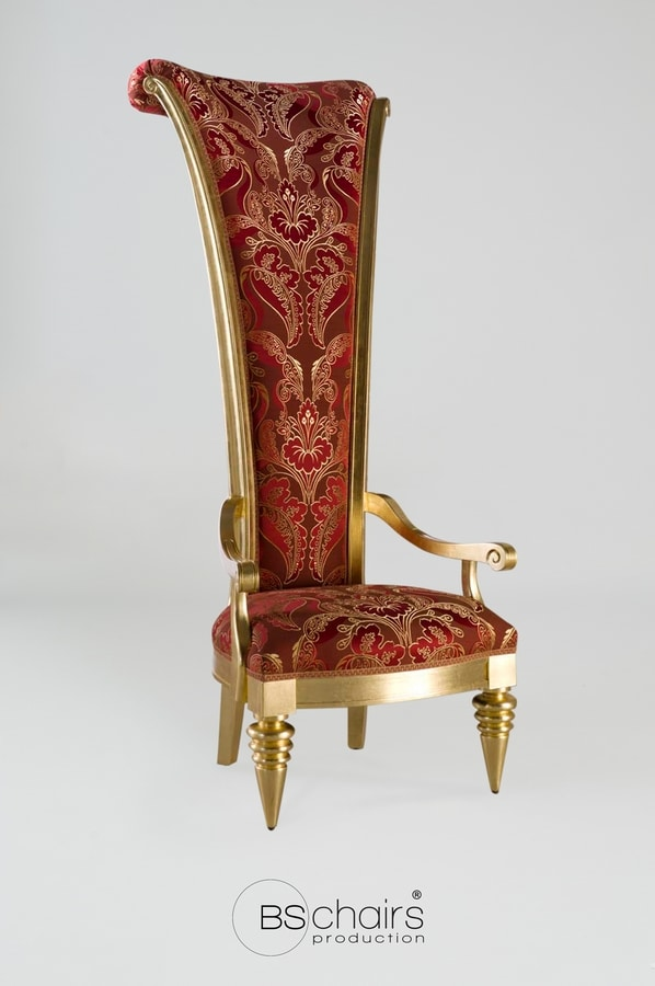 BS400A - Throne, Throne with high back