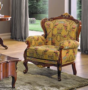 Chippendale armchair, Armchair with a classic design
