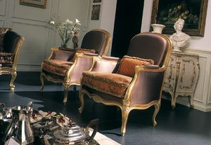 Delizia armchair, Armchair with a classic design