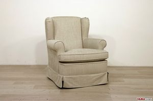 Desir�, Small berg�re armchair with a classic and elegant style