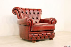 Doge, Luxurious armchair with capitonn� work on frill and back