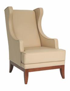 Edgar berg�re, Berg�re armchair for hotel