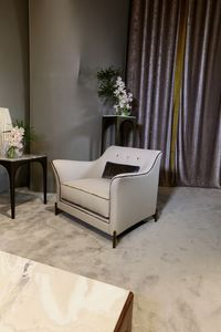 EGEA Poltrona, Armchair for living rooms of luxurious villas