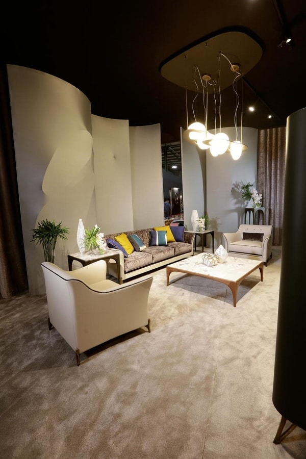EGEA Poltrona, Armchair for living rooms of luxurious villas