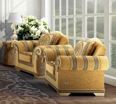 EMPORIO armchair, Armchair for classic living rooms