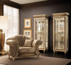 Fantasia armchair, Luxurious neoclassic style armchairs