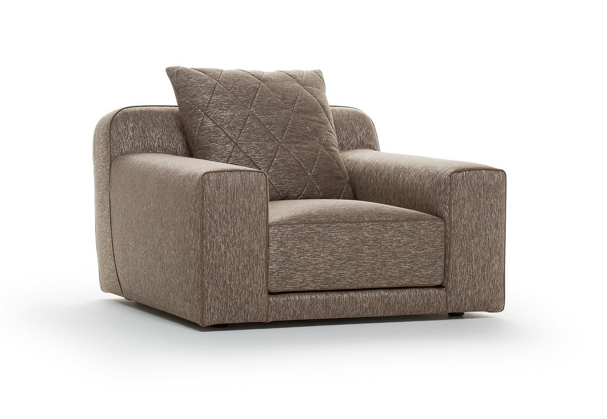 Gary, Armchair with refined details