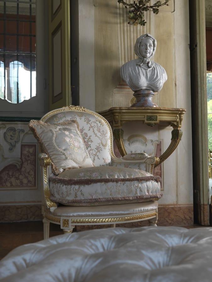 Giulia, The classic armchair par excellence