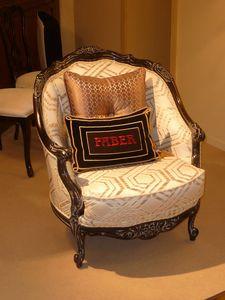 Jade BR.0255, Louis XVI style armchair