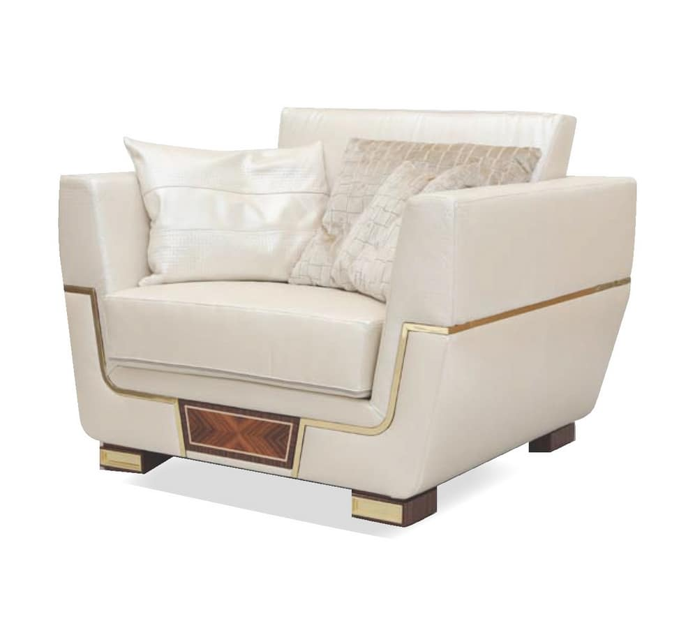 MONTE CARLO / armchair - LUX, Luxurious armchair for prestigious lounges