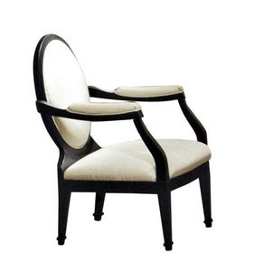 Novecento, Classic armchair with round backrest