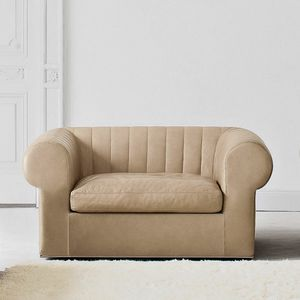 Overtime armchair, Armchair between classic and contemporary style
