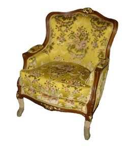 Tolone armchair, Classic style armchair, outlet price
