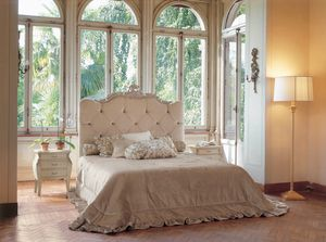 Art. 1130, Padded bed, with a classic design