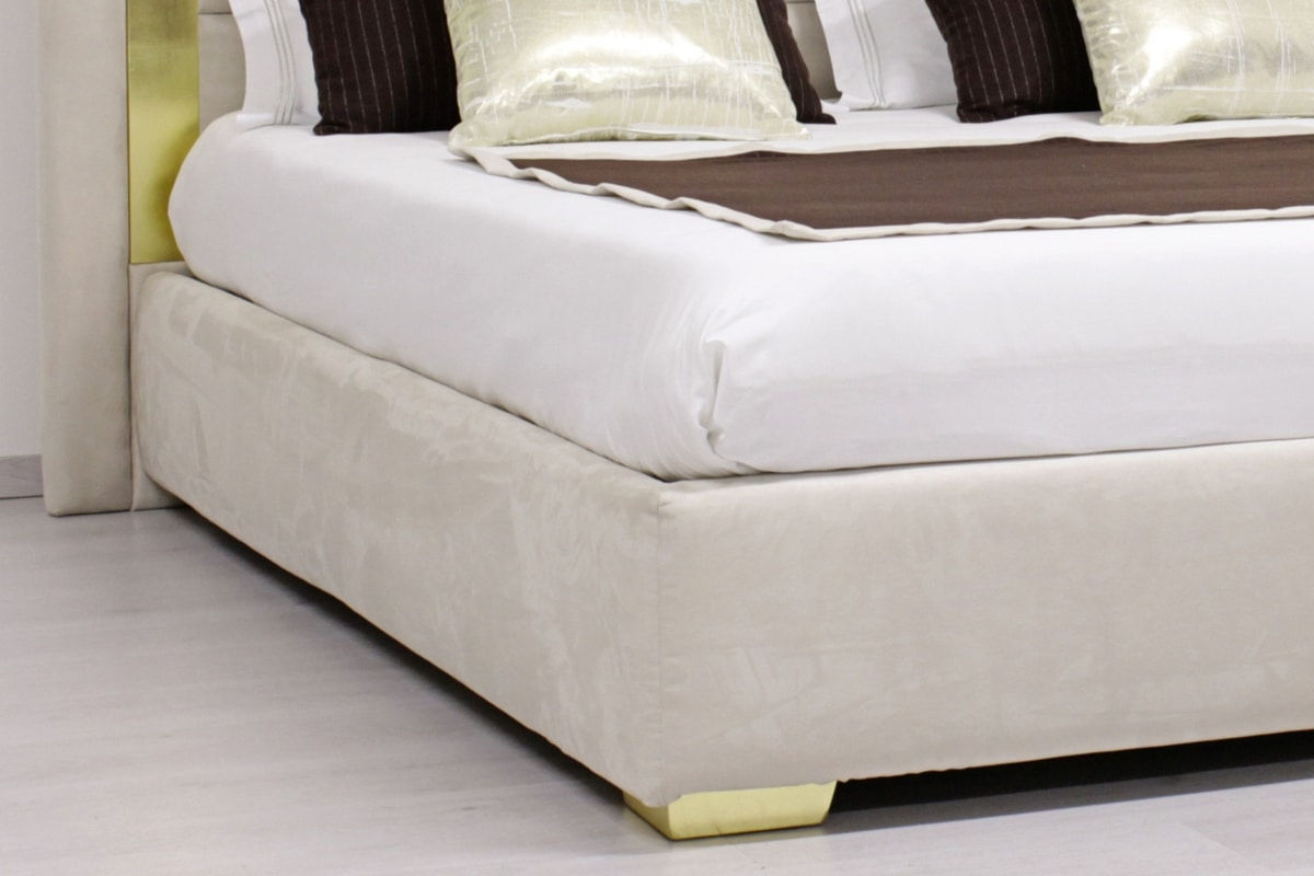 Aurora, Upholstered bed, contemporary style