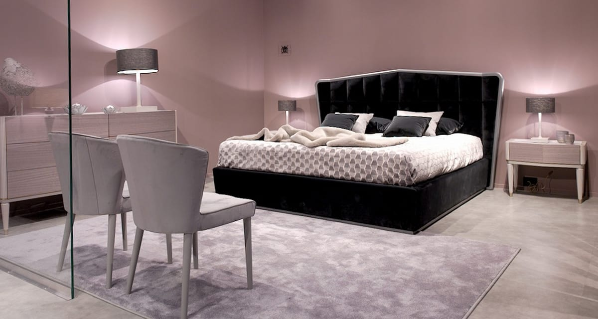 Beverly Art. 955, Modeno padded bed