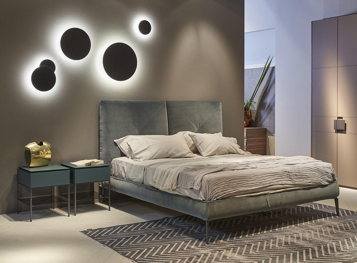CHARLOTTE comp.03, Elegant modern bed