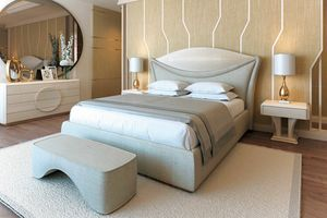 Charme, Elegant upholstered bed