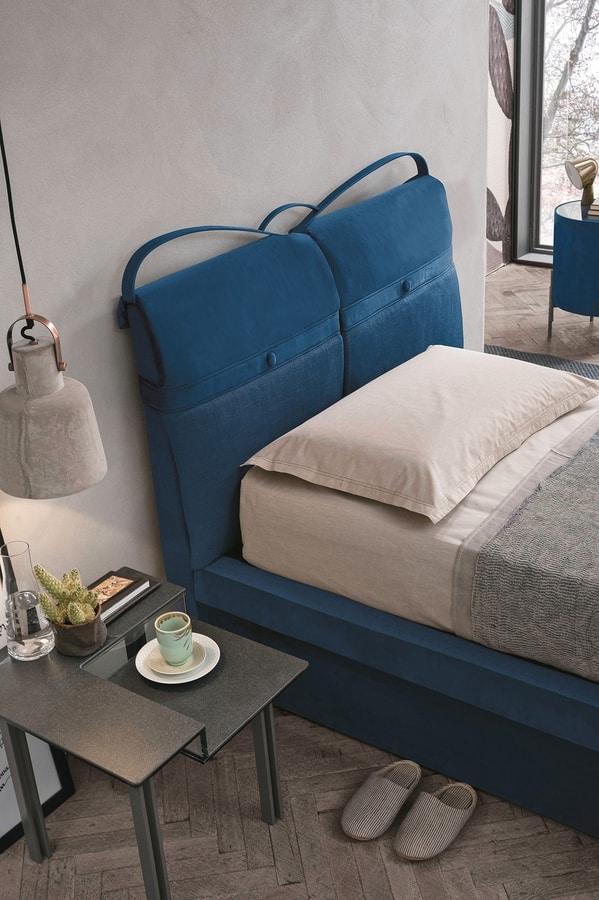 CORFÙ PLUS SB458, Padded single bed