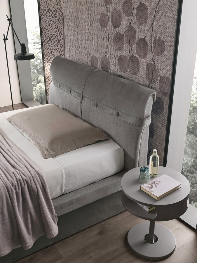 CORFÙ PLUS SD458, Upholstered bed
