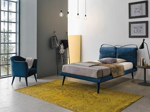 CORF� SD463, Modern upholstered bed
