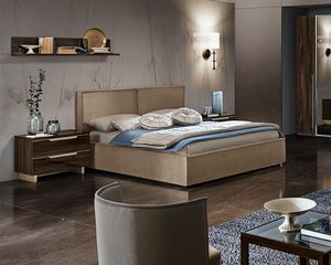 Cubo bed, Fully upholstered bed