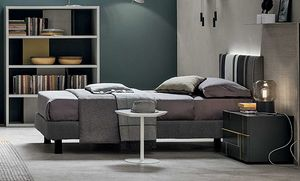 Diagonal young, Modern single bed