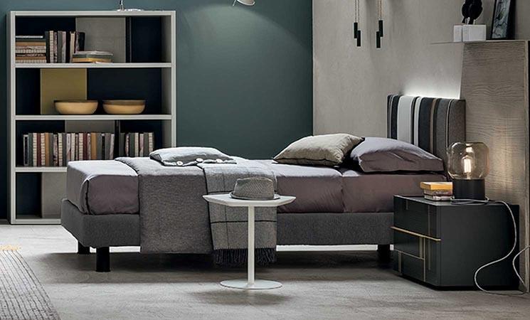 Diagonal young, Modern single bed