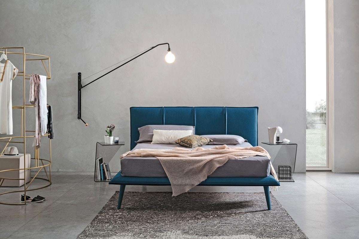 ITACA KB462, Padded king size bed
