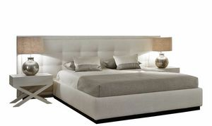 Jazz, Modern bed with wide headboard