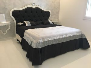 Lara leather, Padded double bed