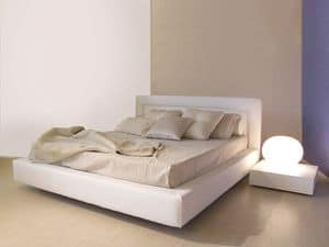 Master, Simple style modern bed with wide frame