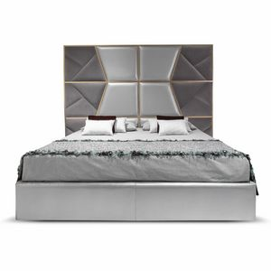 Mondrian Art. 957, Bed with an imposing padded headboard
