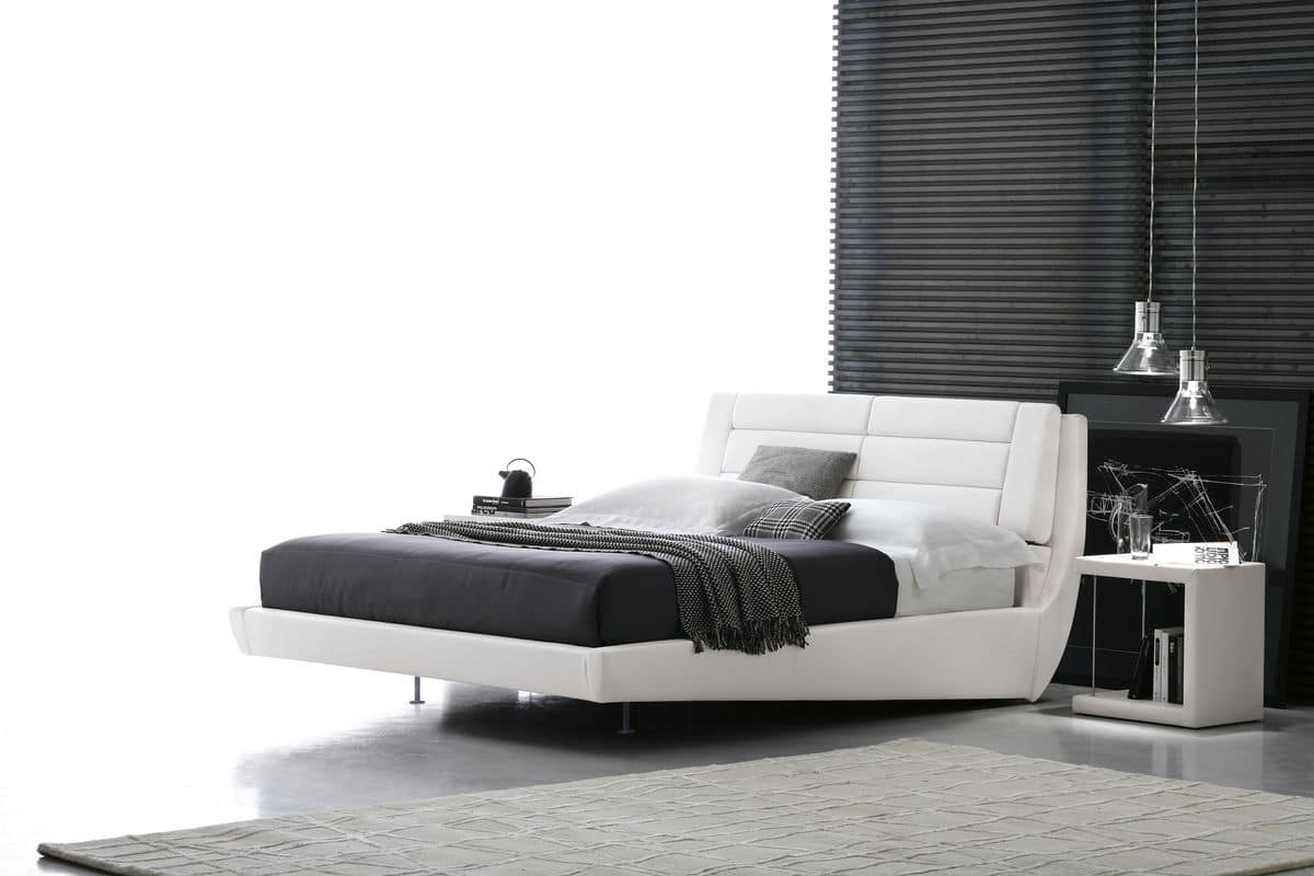ROMA KB441, King-size bed with electronic regulation system