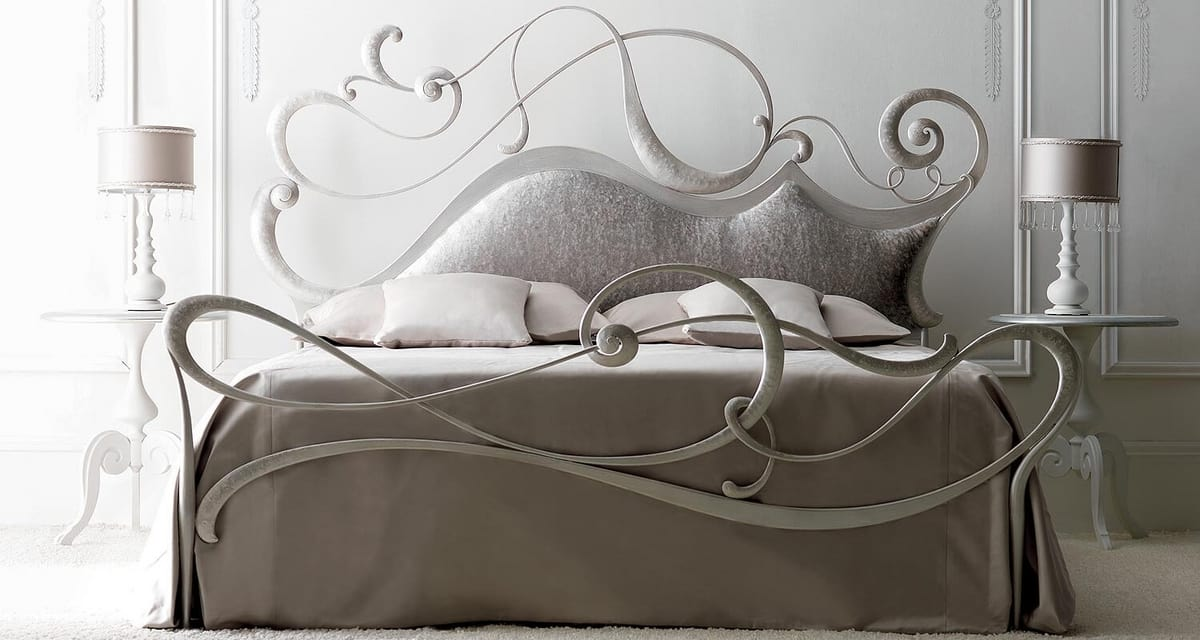 Safira / Safira II Art. 916, Bed with a fresh and young design