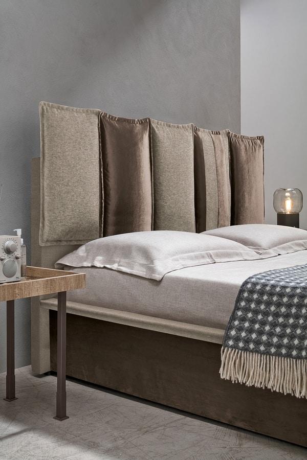 SANTORINI BD464, Contemporary design bed