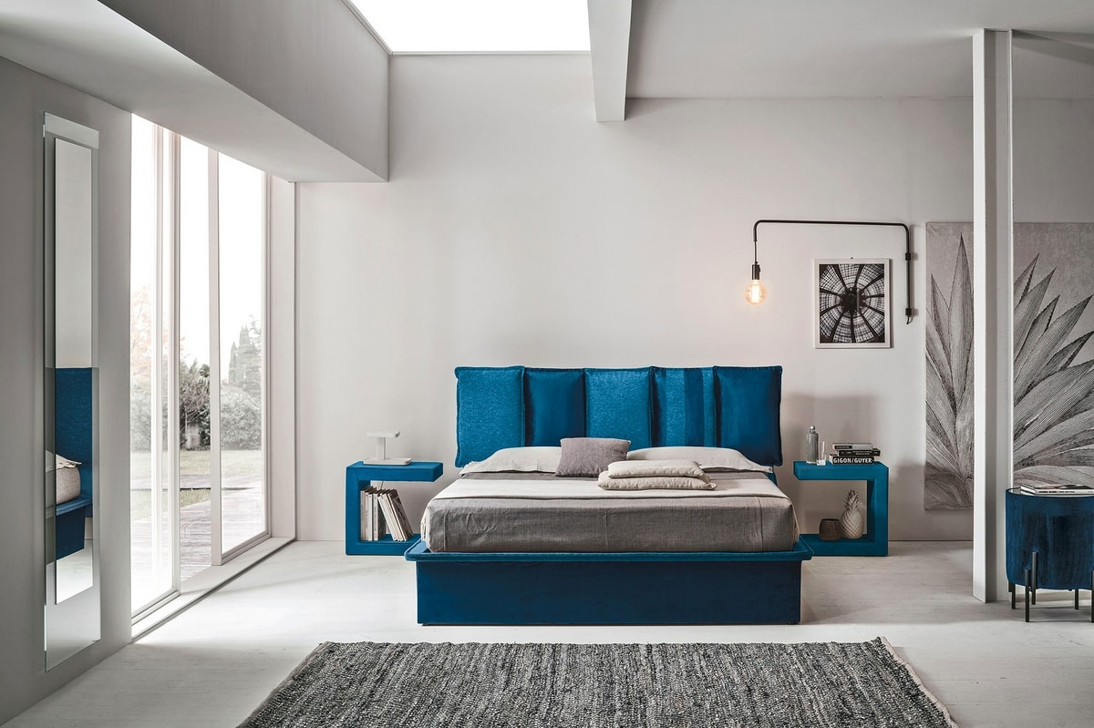 SANTORINI BD464, Contemporary design bed