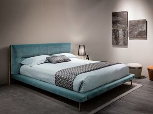 Shangai bed, Bed with non-deformable padding