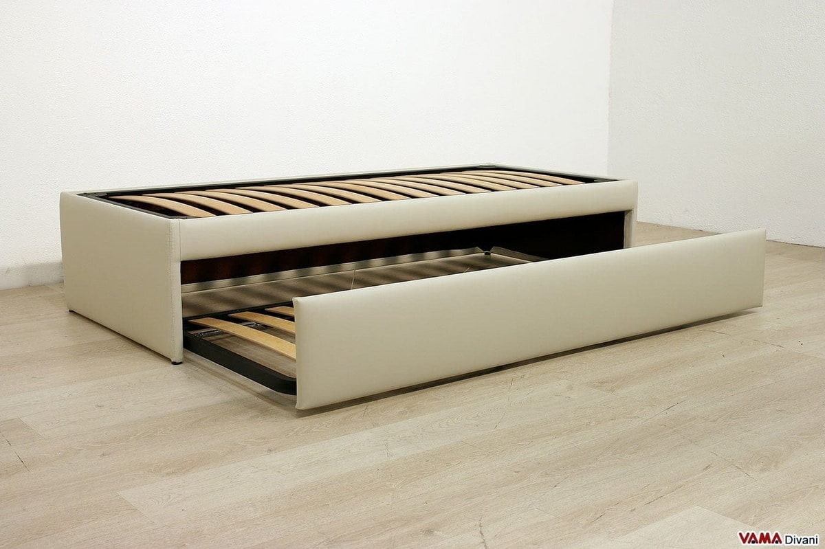 Retractable Double Pull Out Bed That